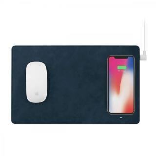 GAZEPAD PRO Qi対応ワイヤレス充電機能付きマウスパッド ブルー
