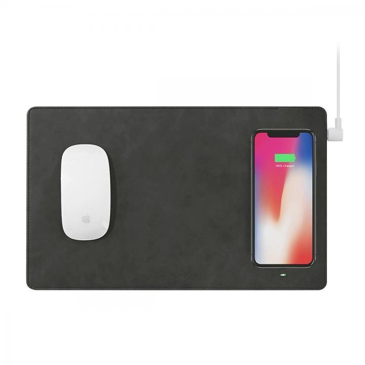 GAZEPAD PRO Qi対応ワイヤレス充電機能付きマウスパッド グレー_0