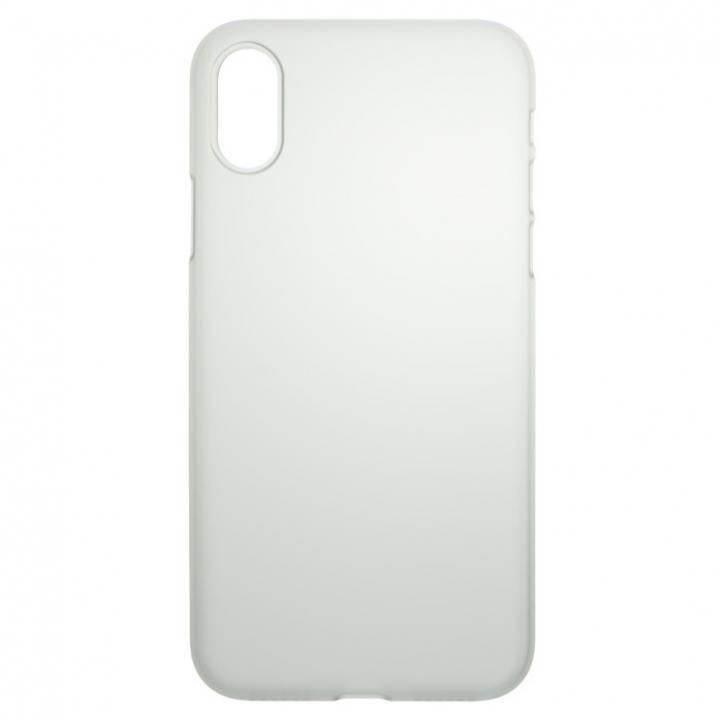 【iPhone Xケース】パワーサポート  Air jacket クリアマット iPhone X_0