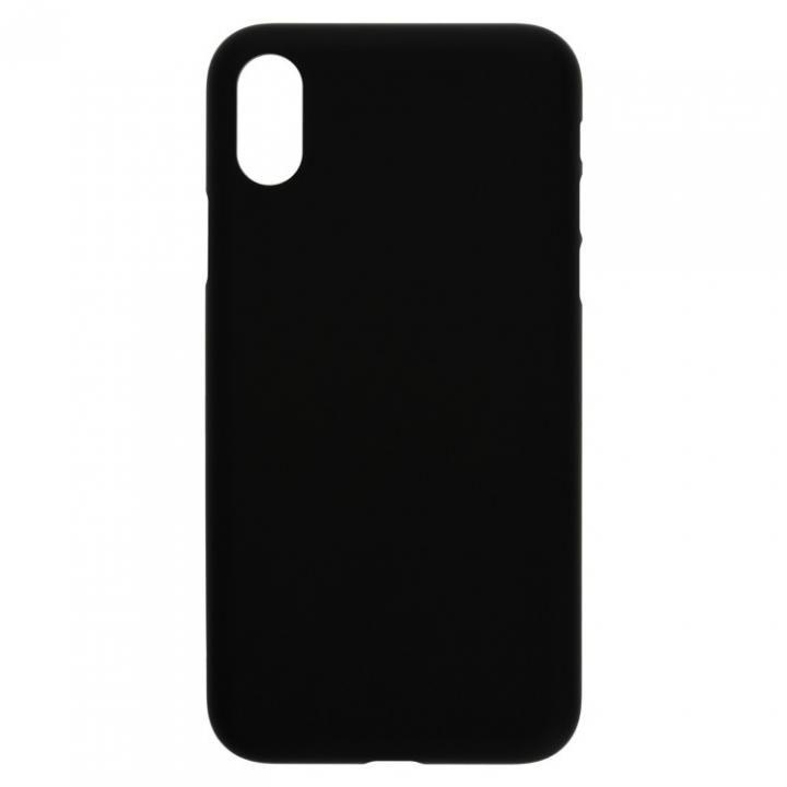 iPhone X ケース パワーサポート  Air jacket ラバーブラック iPhone X_0