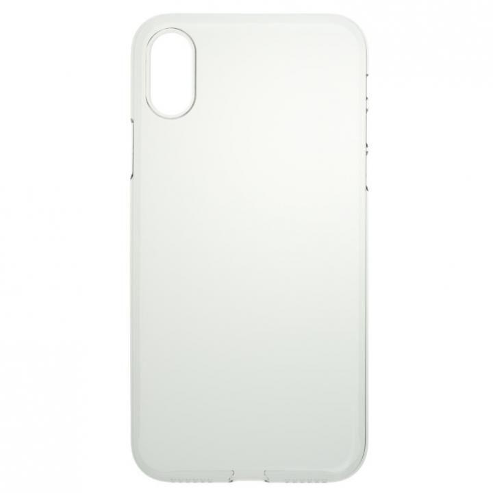 パワーサポート  Air jacket クリア iPhone X