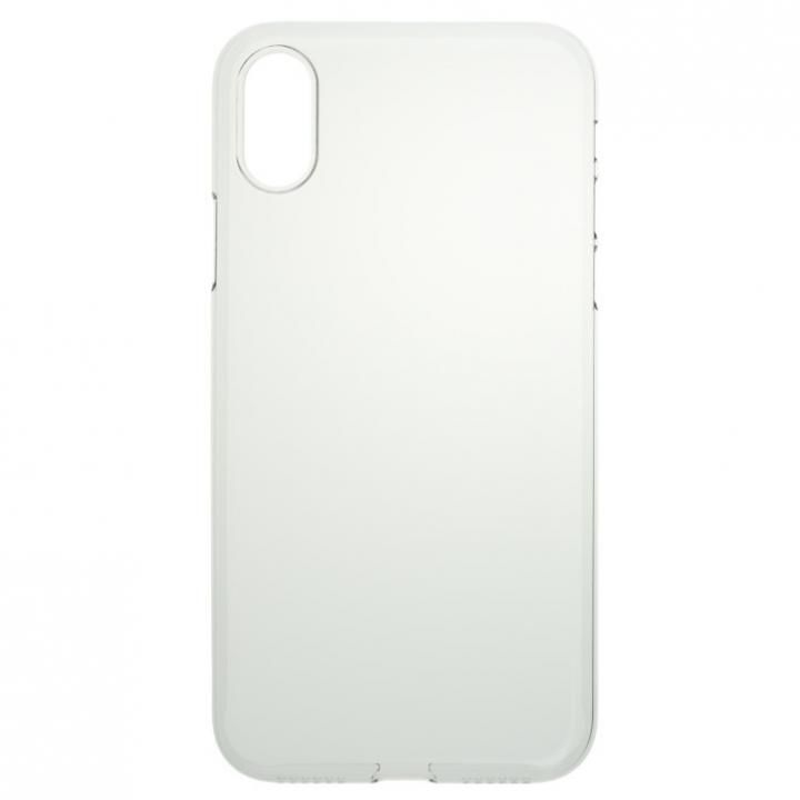 【iPhone Xケース】パワーサポート  Air jacket クリア iPhone X_0