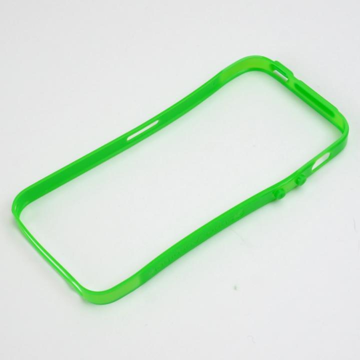 iPhone SE/5s/5 ケース Cleave Aluminum Bumper  Aero TPUバンパーキット Green_0