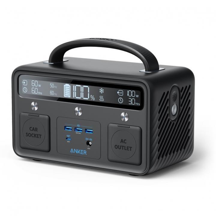 Anker PowerHouse II 400 108000mAh ポータブル電源 ブラック【12月上旬】_0