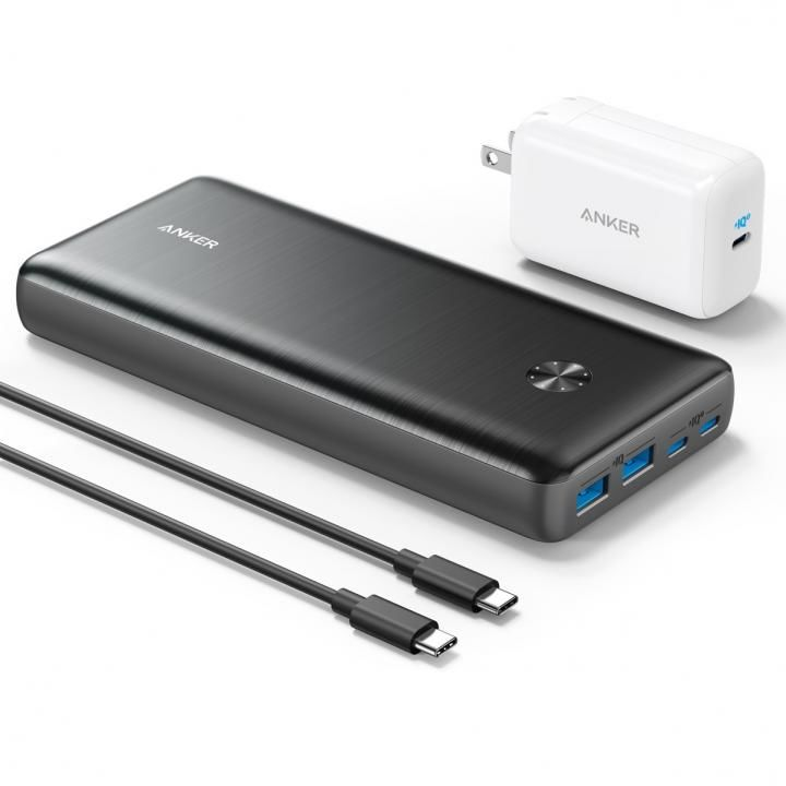 Anker PowerCore III Elite 25600 87W モバイルバッテリー with PowerPort III 65W Pod ブラック_0