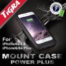 [4000mAh]バッテリー内蔵マウントケース Power PLUS iPhone 6s Plus/6 Plus