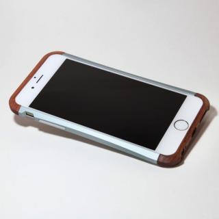【iPhone6ケース】アルミとウッドバンパー i+CASE CRAFT チタニウム iPhone 6バンパー_3