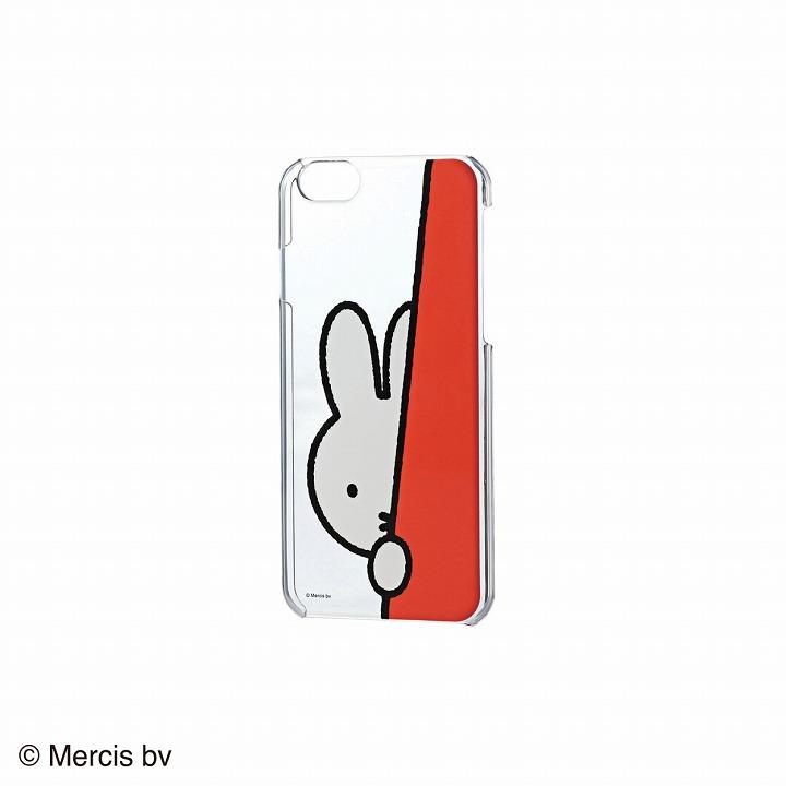 iPhone6 ケース ミッフィー ハードクリアケース かくれんぼ iPhone 6ケース_0