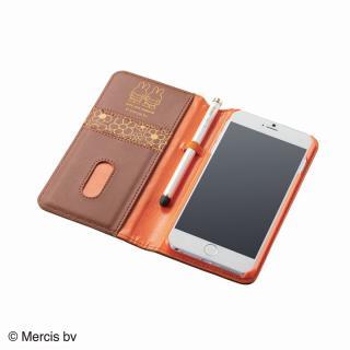 ミッフィー ソフトレザー手帳型ケース メラニー iPhone 6 Plusケース