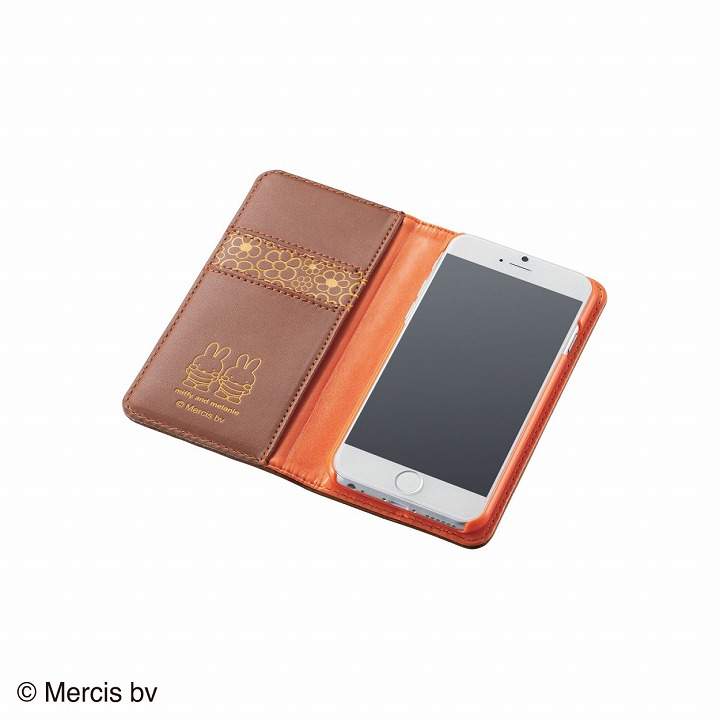 iPhone6 ケース ミッフィー ソフトレザー手帳型ケース メラニー iPhone 6ケース_0