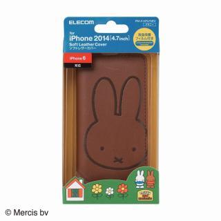 【iPhone6ケース】ミッフィー ソフトレザー手帳型ケース メラニー iPhone 6ケース_3