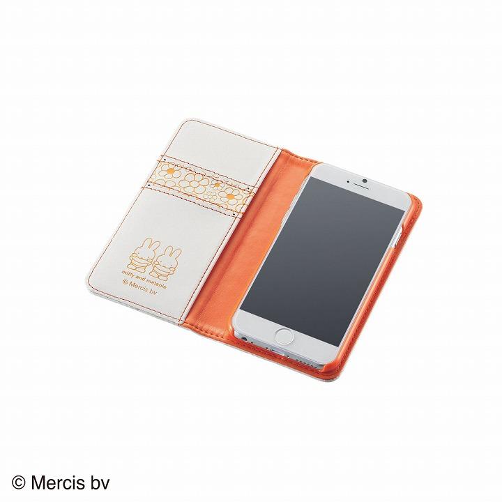 iPhone6 ケース ミッフィー ソフトレザー手帳型ケース ミッフィー iPhone 6ケース_0