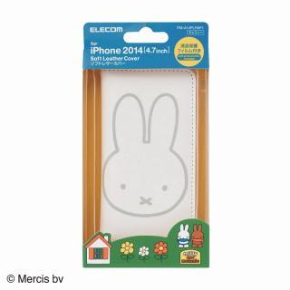 【iPhone6ケース】ミッフィー ソフトレザー手帳型ケース ミッフィー iPhone 6ケース_7