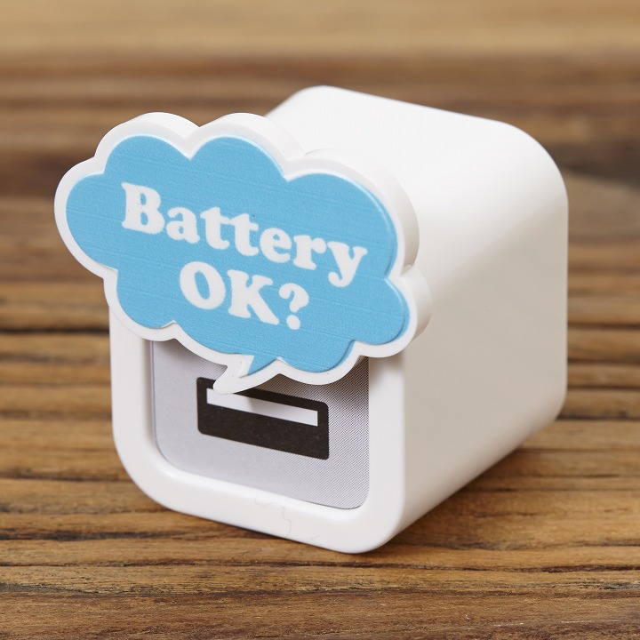iMarker バッテリー OK?|Apple 純正ACチャージャー用カバー_0