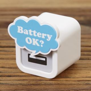 iMarker バッテリー OK?|Apple 純正ACチャージャー用カバー