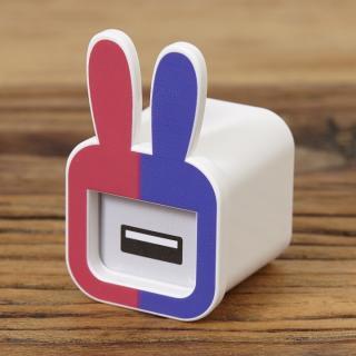 iMarker うさぎ(ピンクパープル)|Apple 純正ACチャージャー用カバー
