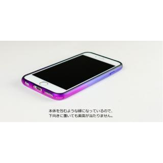 【iPhone6ケース】鮮やかなカラーリング 染 ソフトバンパー 藍 iPhone 6バンパー_2