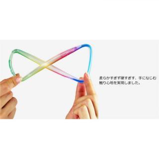 【iPhone6ケース】鮮やかなカラーリング 染 ソフトバンパー 虹 iPhone 6バンパー_1