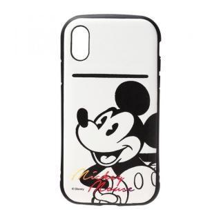 Premium Style タフポケットケース ミッキーマウス/ホワイト iPhone X