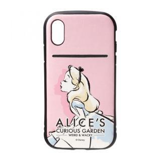 Premium Style タフポケットケース アリス iPhone XS/X