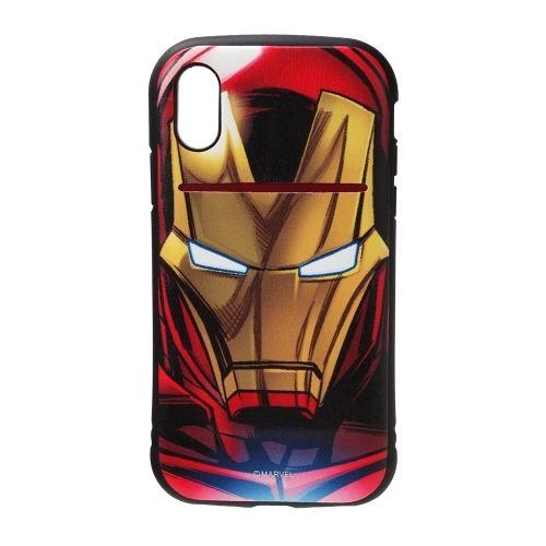 iPhone XS/X ケース Premium Style タフポケットケース アイアンマン iPhone XS/X_0