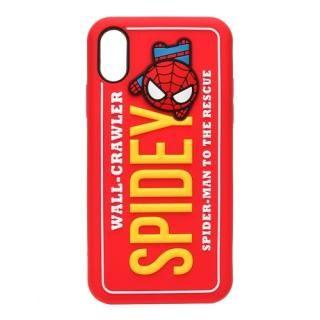iJacket シリコンケース スパイダーマン iPhone X