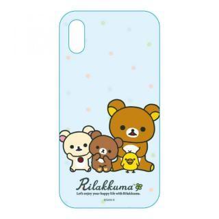 サンエックスコレクション クリアケース リラックマ/スタンダード iPhone X
