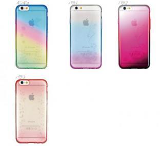 【iPhone6ケース】鮮やかなカラーリング 染 蘭 iPhone 6ケース_4