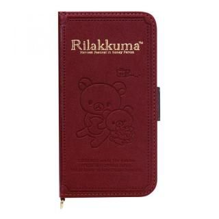 サンエックスコレクション 手帳型ケース リラックマ/ブック iPhone X