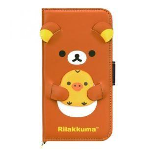 サンエックスコレクション 手帳型ケース リラックマ/ダイカット iPhone X