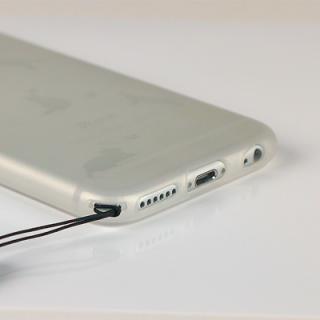 【iPhone6ケース】クリアマットケース 音符 iPhone 6ケース_2