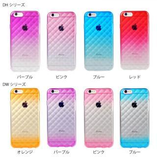【iPhone6ケース】鮮やかなカラーリング 染 DWブルー iPhone 6ケース_4