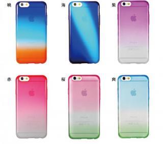 【iPhone6ケース】鮮やかなカラーリング 染 桜 iPhone 6ケース_5