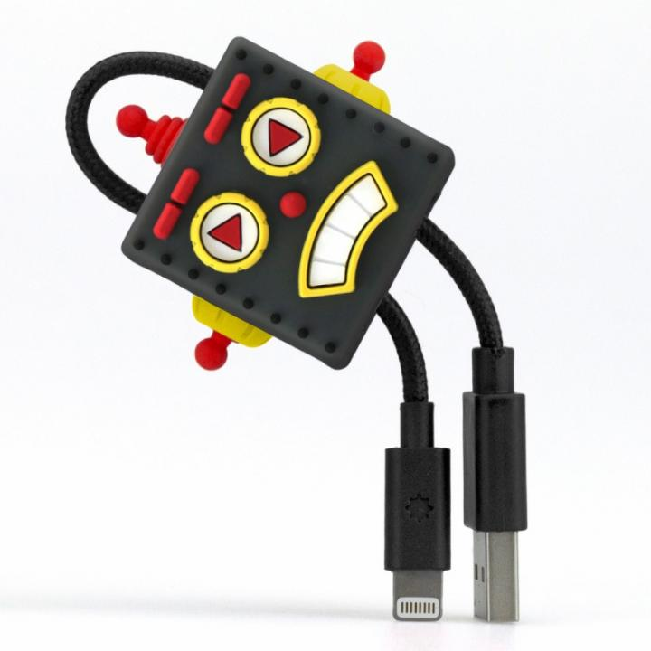 ロボットデザイン Lightningケーブル TUNEWEAR CableArt ブラック_0