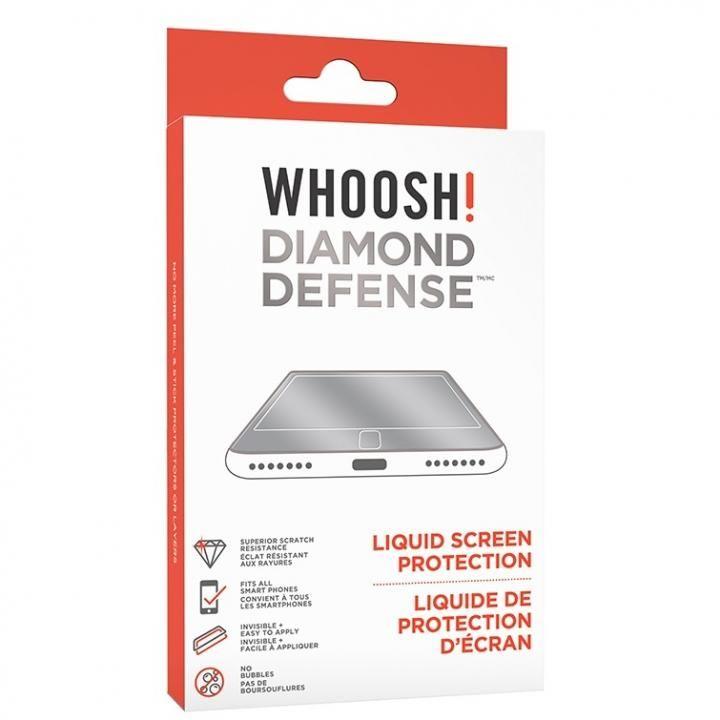 WHOOSH 液体スクリーンプロテクター DIAMOND DEFENSE LIQUID【2月上旬】