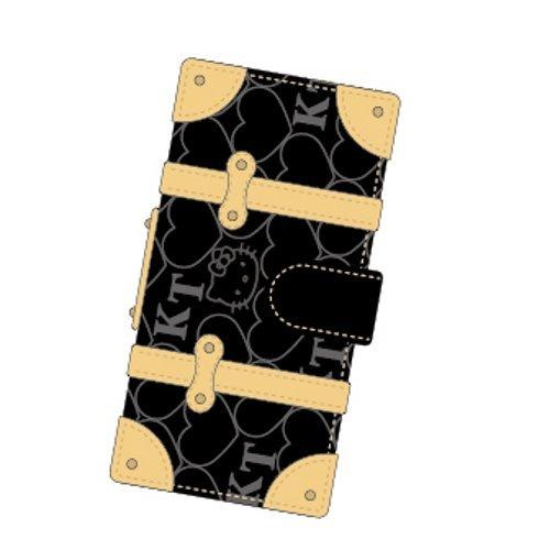 ハローキティ iPhone SE/5s/5対応トランクカバー ブラック