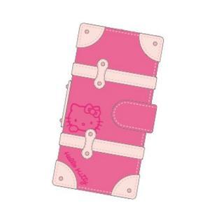 ハローキティ iPhone SE/5s/5対応トランクカバー ピンク