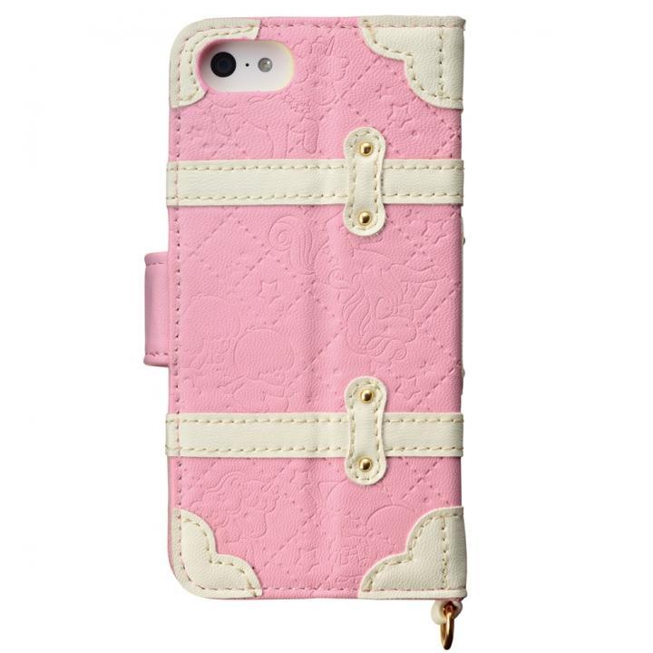 【iPhone SE/5s/5ケース】iPhone SE/5s/5/5c 手帳型ケース リトルツインスターズ ユニコーンピンク_0