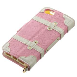 【iPhone SE/5s/5ケース】iPhone SE/5s/5/5c 手帳型ケース リトルツインスターズ ユニコーンピンク_1