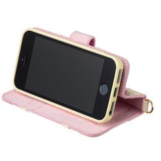 【iPhone SE/5s/5ケース】iPhone SE/5s/5/5c 手帳型ケース リトルツインスターズ ユニコーンピンク_5