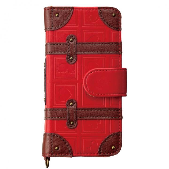 【iPhone SE/5s/5ケース】ディズニー トランク手帳型ケース アリス iPhone SE/5s/5/5c_0