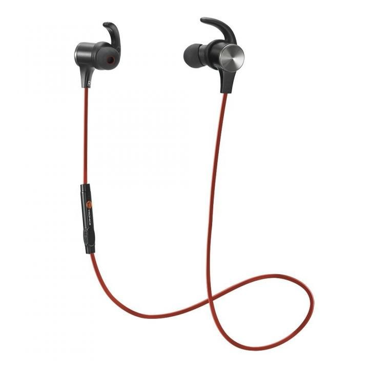 Bluetoothイヤホン TT-BH07 レッド