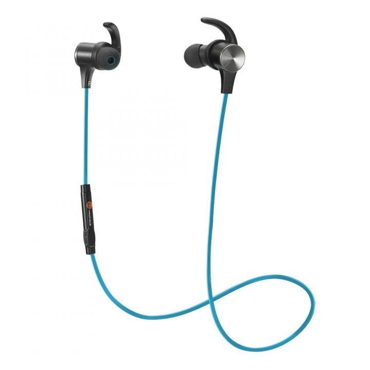 Bluetoothイヤホン TT-BH07 ブルー【8月上旬】