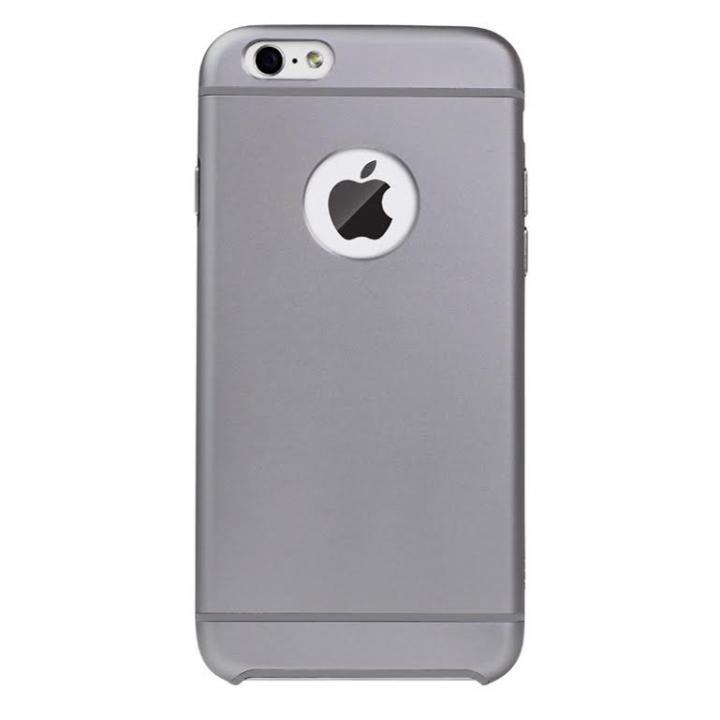 電波妨害が少ないアルミケース ibacks Essence スペースグレイ iPhone 6ケース