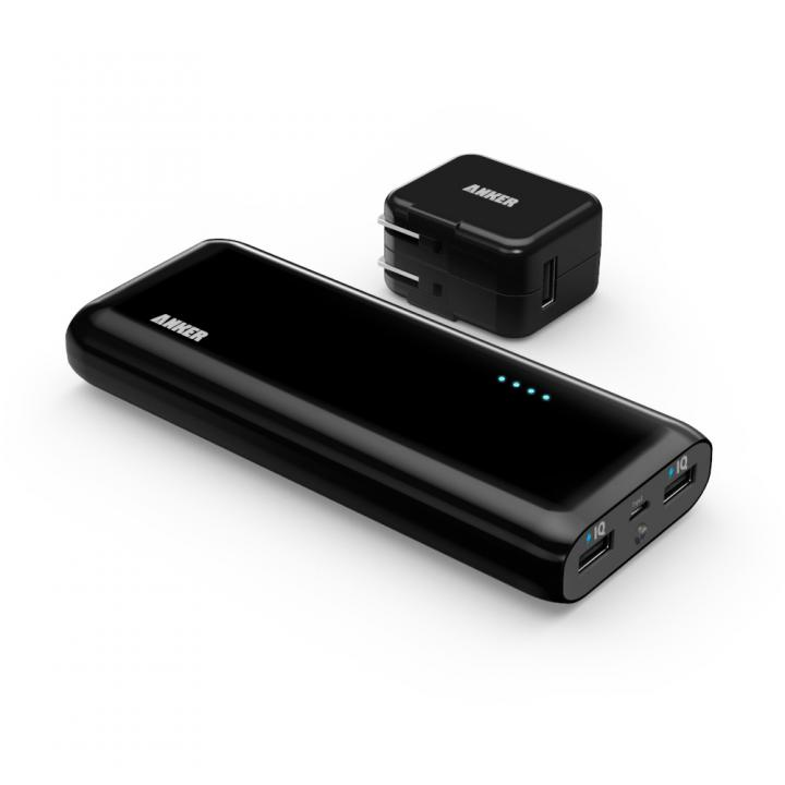 [16000mAh]Anker Astro E5 16000mAhモバイルバッテリー ブラック+10W 急速充電器