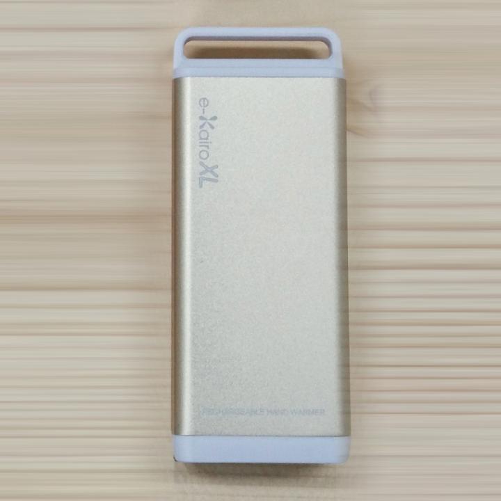 [4400mAh]充電式カイロ/モバイルバッテリー e-Kairo XL ゴールド