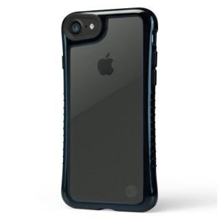 TUNEWEAR ハイブリット衝撃吸収クリアケース ブラック iPhone 7