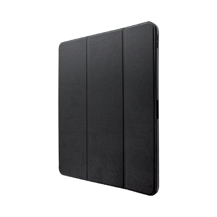 ApplePencil収納可能フラップケース「Pencil Note」 ブラック iPad Pro 2018 12.9インチ_0