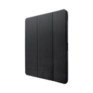 ApplePencil収納可能フラップケース「Pencil Note」 ブラック iPad Pro 2018 12.9インチ