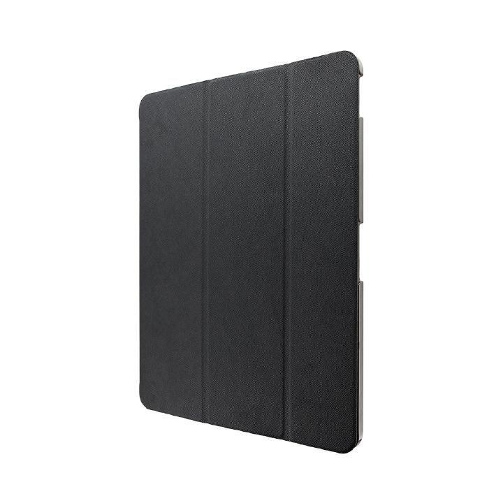 背面クリアフラップケース 「Clear Note」 ブラック iPad Pro 2018 12.9インチ_0